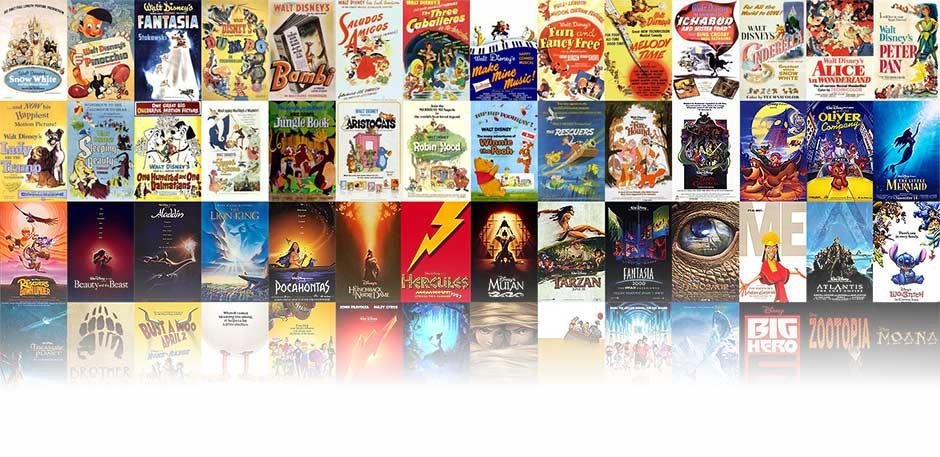 Disney Classic Animated Films
