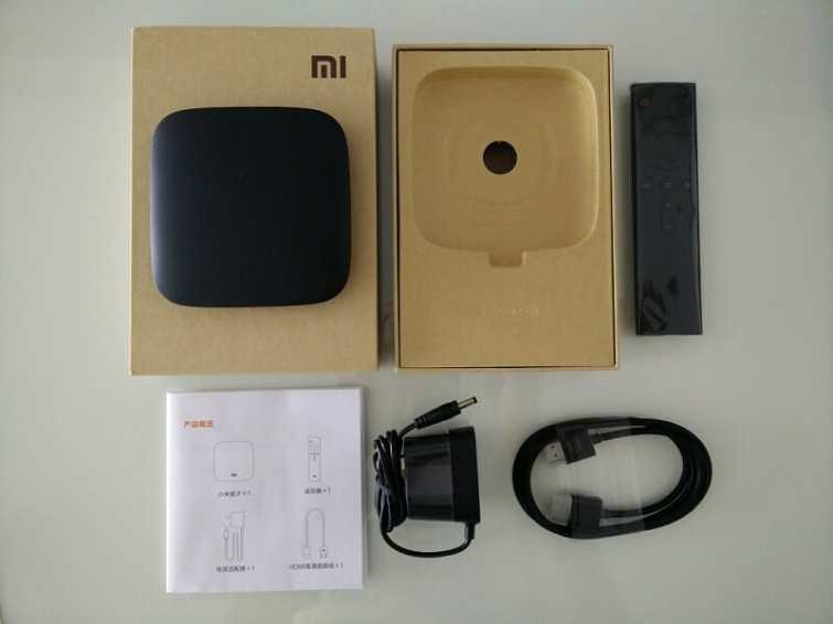 Mi TV BOx 3 package Inside