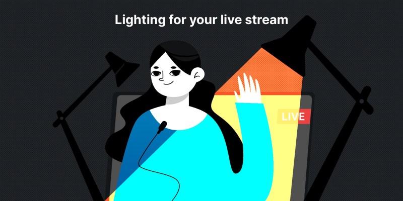 lighting for live streaming, lighting, video lighting