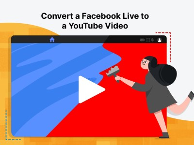 facebook live to YouTube