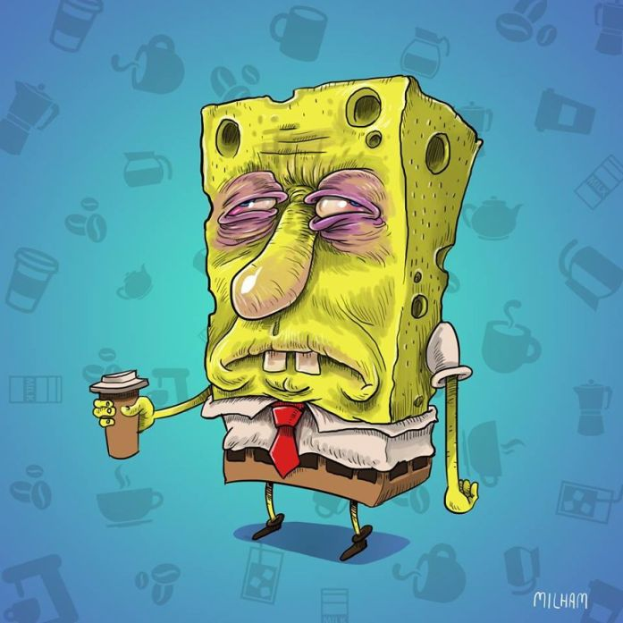 Sponge Bob Coffee