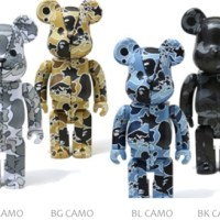 A BATHING APE CAMO 400% ベアブリック(BE@RBRICK)