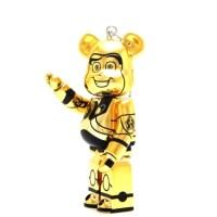 BE@RBICK WOW! Disney PIXAR Summer Vacation バズ・ライトイヤー ゴールド メタリック Ver ベアブリック