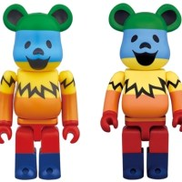GRATEFUL DEAD DANCING BEARS 100% 1000% RAINBOW ベアブリック (BE@RBRICK) [情報]