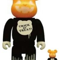 Halloween 2009 100% & 400% ベアブリック(BE@RBRICK)[情報]