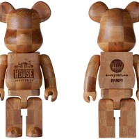 カリモク HOUSE INDUSTRIES CHESS 400% ベアブリック (BE@RBRICK)
