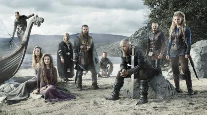 Seriados para homem - Vikings