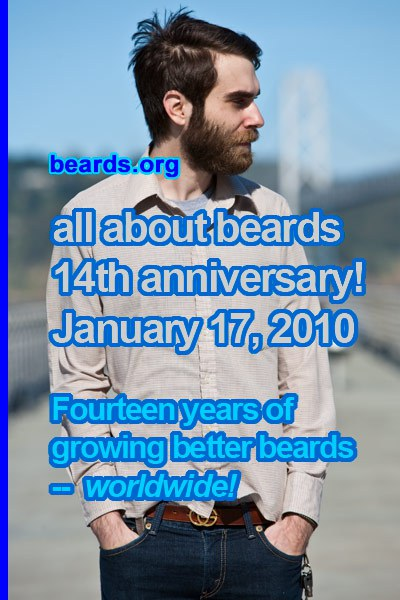 all about beards -- fourteenth anniversary