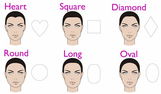 Angular Shaped Head Hairstyles Men