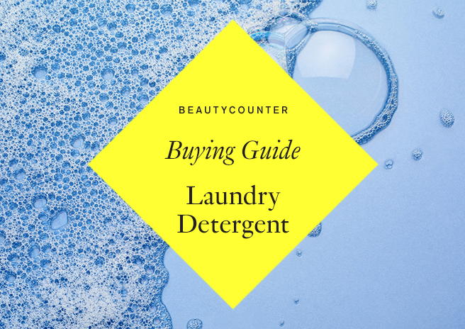 Safer Laundry Detergent Buying Guide