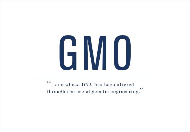 Genetically Modified Organisms (GMOs) 101
