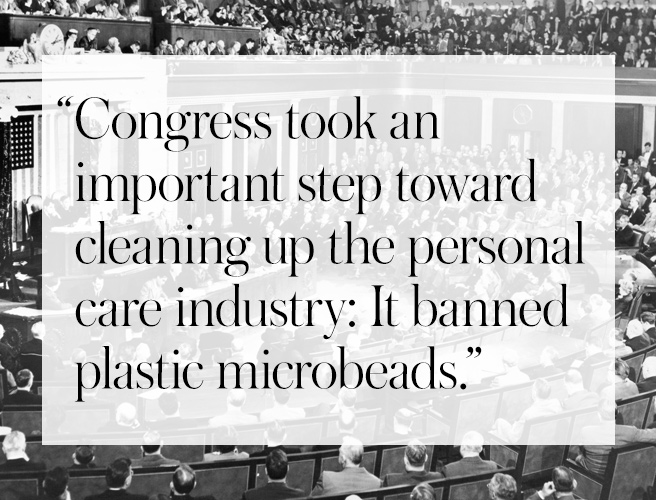 Plastic Microbeads Banned—Next Step: Safer Ingredients