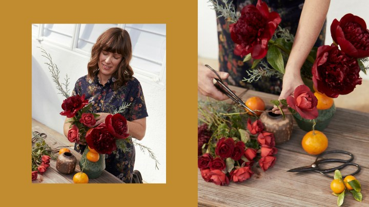Florist Holly Vesecky Shares Her Trick for Tricky Vases and More