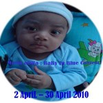 Mama Adha's Baby in Blue Contest