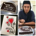 First Homemade Birthday Cake for Dak P..