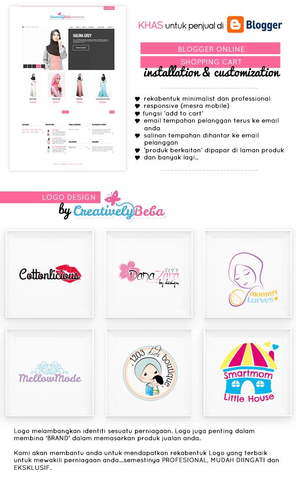 logodesign-blogspotonlineshop