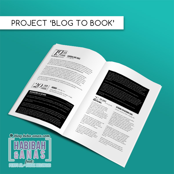 blog book project