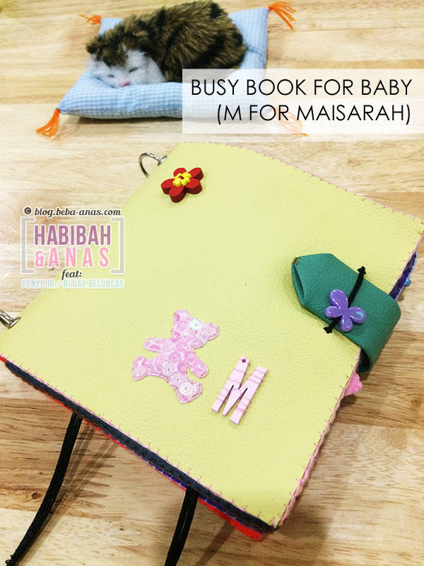 busy book for baby - cover page