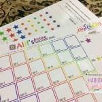 Puasa Reward Chart untuk En. Alif