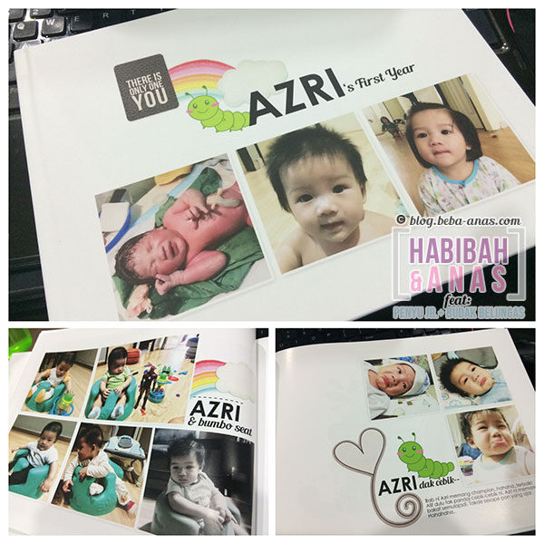 baby's first year photobook