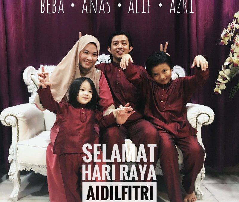 Raya Aidilfitri 2017 – Part 1