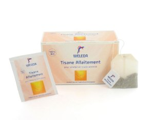 tisane-allaitement Weleda