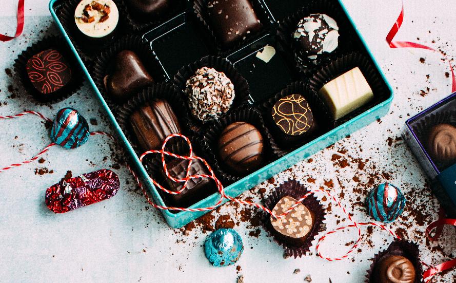 Ah les bons chocolats de Noël !!!