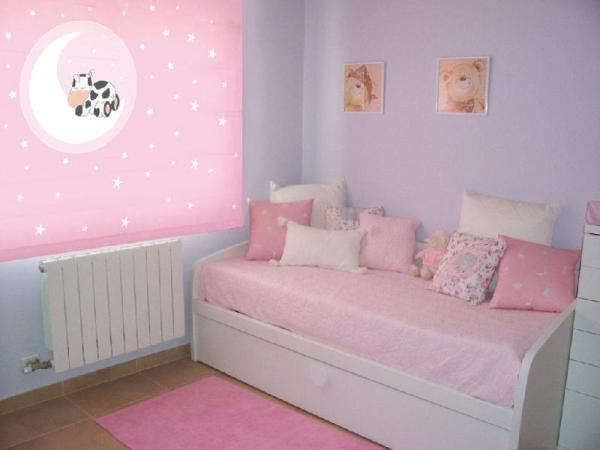 Decorar estores para una habitaci n infantil blog for Pared habitacion infantil