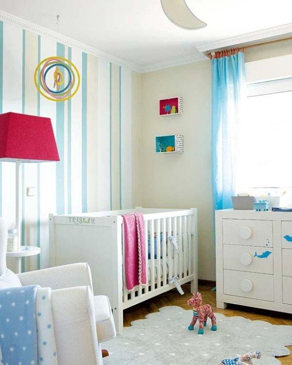 Como distribiuir el mobiliario en la habitacion del bebe - Mobiliario habitacion bebe ...