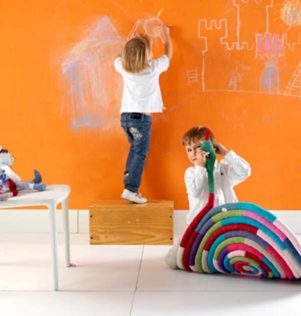 Elegir la pintura para dormitorios infantiles