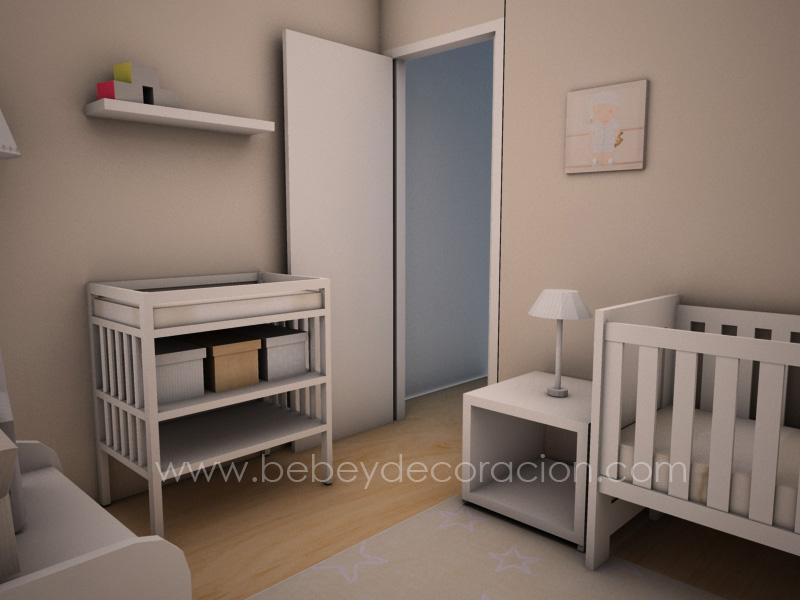 Proyecto de decoracion infantil: la habitacion de David