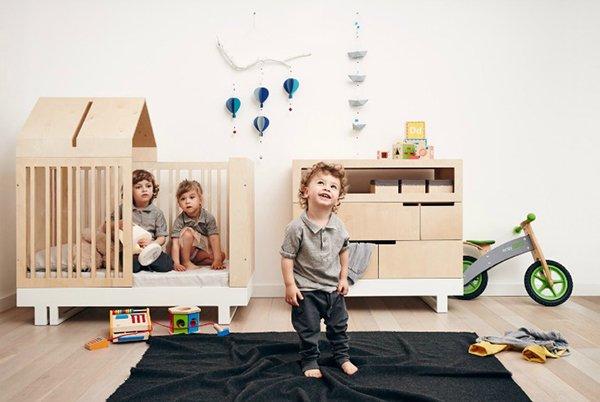 Muebles multifuncionales y cómo aprovechar el espacio en dormitorios infantiles