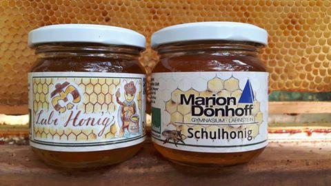 Honig aus den Projekten mit den Padfindern Lubentius & dem Marion-Dönhoff-Gymnasium in Lahnstein