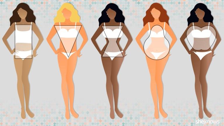 Resultado de imagen de BODY TYPES WOMEN