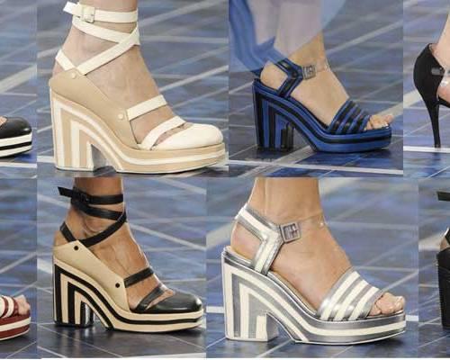Chanel Shoes   Paris Fashion Week   SS 2013