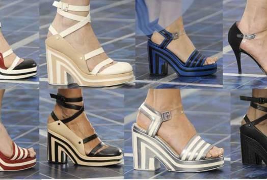 Chanel Shoes | Paris Fashion Week | SS 2013