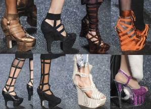 Jean-Paul-Gaultier Shoes | Paris Fashion Week | SS 2013