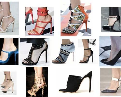 High Heel Shoes Tendencies Spring Summer 2013 Tendencias de zapatos de tacón Primavera Verano 2013