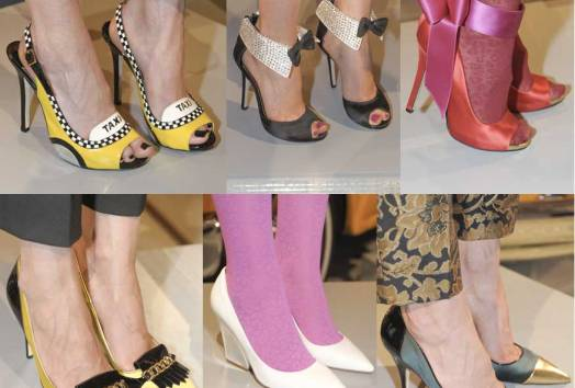 Kate Spade. Shoes. Mercedes Benz Fashion Week New York. Fall-Winter 2013-2014