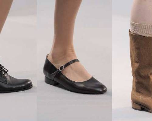 Agnes B. | | Paris Fashion Week | Fall-Winter 2013-2014 | Shoes. Calzado