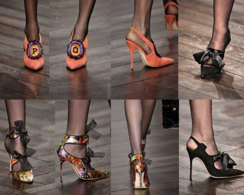 Manolo-Blahnik for PPQ | London Fashion Week | Fall-Winter 2013-2014 | Shoes. Calzado