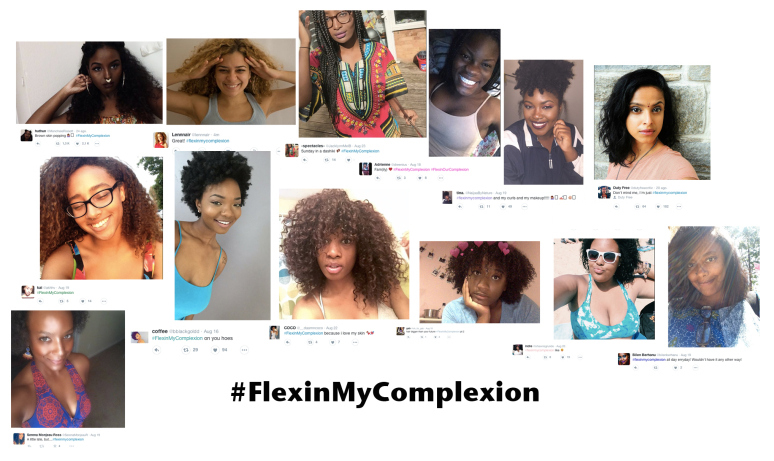 #flexinmycomplexion