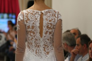 Hiedra Dress Back Transparency Detail. Collection Vintage by Jordi Dalmau