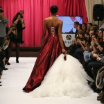 Back Wedding Dress with Overskirt by Jordi Dalmau / Espalda Vestido de Novia con Sobrefalda de Jordi Dalmau
