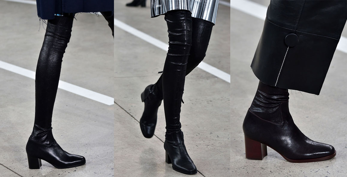 Thakoon Fashion Boots. New York Fashion Week. Fall-Winter 2015-2016 / Semana de la Moda de Nueva York. Otoño-Inverno 2015-2016.