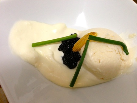 Potato, caviar