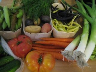 Farmer's market 2, 7-18-09