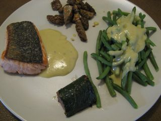Salmon mashup