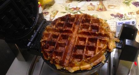 Stuffing Waffles