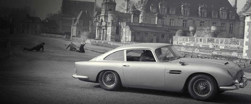 Aston Martin DB5, carro do filme 007 contra Goldfinger - Bem Auto Oficina mecânica especializada no Kobrasol, São José, Florianópolis, Biguaçu, Palhoça - Carros que marcaram a história do cinema